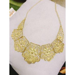 Fayon Desinger Modern Golden Style Unique Charm Necklace