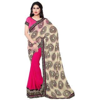 buy us satin chiffon multi color sarees
