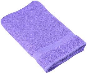 Madhavan Tex GSM Cotton Bath Towel - (Violet)