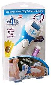 Ped Egg Power Cordless Electric Callus Remover AS SEEN ON TV PedEgg