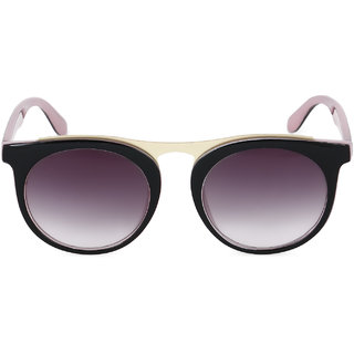 Royal Son Women Black UV Protection Sunglass-WHAT2965