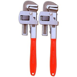 Ketsy 706 2 Pcs.Pipe Wrench 10 Inch+10 Inch