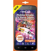 nexGTv ( Mobile Tv 6 Month Subscription Pack)