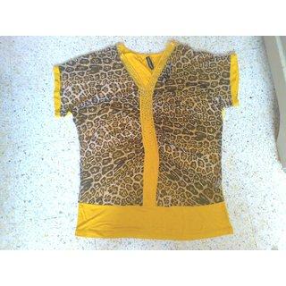 Sun  Jassie - Tiger Print - Imported Top - Designer Brand New -Rs.410 Sun  Jassie - Tiger Print - Imported Top