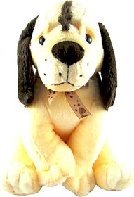 Tabby Toys Cute  Innocent Sporty Dog  - 25 cm (Beige)
