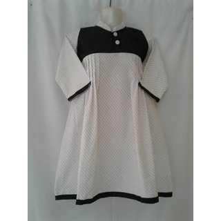 Ma textiles cotton fabrics designer kurti.