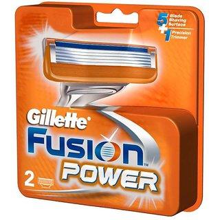 Gillette Fusion Power Shaving Razor Blades, 2s pack - Cartridge