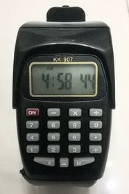 wirst watch with calculator and date