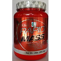 N O V A RAPID MASS , MASS GAINER  2 LB ( VANILLA FLAVOUR ) FASTER WAY TO GAIN WEIGHT