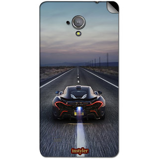 Instyler Mobile Skin Sticker For Micromax Superfone A101 MSMMXSUPERFONEA101DS-10034