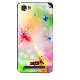 Instyler Mobile Skin Sticker For Micromax Canvas Juice 4Gq461 MSMMXCANVASJUICE4GQ461DS-10042