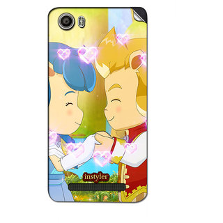 Instyler Mobile Skin Sticker For Micromax Canvas Juice 4Gq461 MSMMXCANVASJUICE4GQ461DS-10069