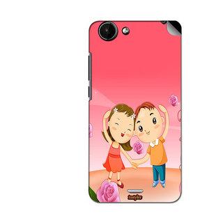 Instyler Mobile Skin Sticker For Micromax Canvas Nitro 3E352 MSMMXCANVASNITRO3E352DS-10056