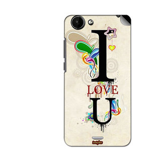Instyler Mobile Skin Sticker For Micromax Canvas Mega E353 MSMMXCANVASMEGAE353DS-10039