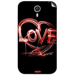 Instyler Mobile Skin Sticker For Micromax Canvas Xpress 2E313 MSMMXCANVASXPRESS2E313DS-10042