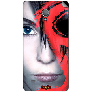 Instyler Mobile Skin Sticker For Micromax Superfone A101 MSMMXSUPERFONEA101DS-10111