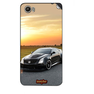 Instyler Mobile Skin Sticker For Micromax Canvas Fire 4Gplus Q412 MSMMXCANVASFIRE4GPLUSQ412DS-10035