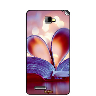 Instyler Mobile Skin Sticker For Micromax Canvas Mad A94 MSMMXCANVASMADA94DS-10123