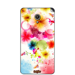 Instyler Mobile Skin Sticker For Micromax Canvas Fire 4Gq411 MSMMXCANVASFIRE4GQ411DS-10076