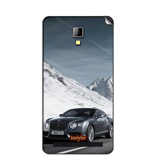 Instyler Mobile Skin Sticker For Micromax Bolt Q331 MSMMXBOLTQ331DS-10033