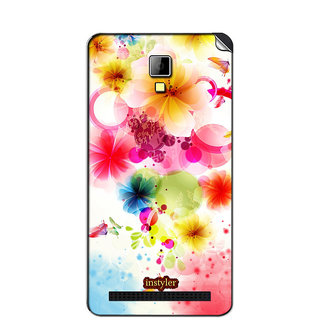 Instyler Mobile Skin Sticker For Micromax Bolt Q331 MSMMXBOLTQ331DS-10076