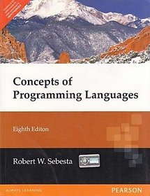 Concepts of Programming Languages (English) 8th  Edition         (Paperback)