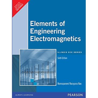 Elements of Engineering Electromagnetics (English) 6th Edition         (Paperback)