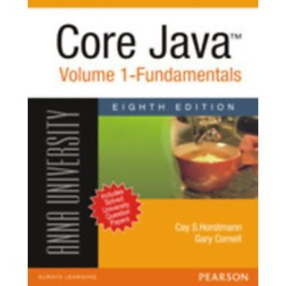 Core Java(TM) Volume 1  Fundamentals (For Anna University)         (Paperback)