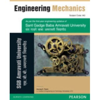 Engineering Mechanics  for the Sant Gadge Baba Amravati University         (Paperback)