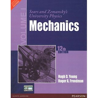 Sears and Zemanskys University Physics Mechanics (Volume I) (English) 1st Edition         (Paperback)