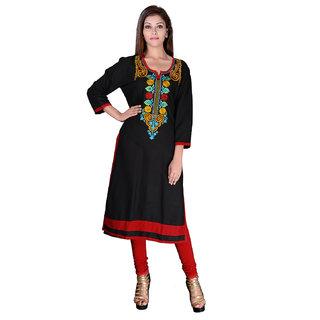 Factorywala Designer  Colorful Regular wear Embroidered Kurti For womens