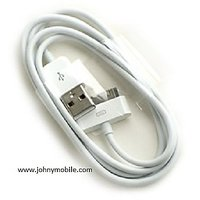 2 NEW USB DATA CABLE FOR APPLE IPHONE 2G/3G/4G/4S & IPOD