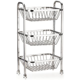 Saphire Stainless Kitchen Trolley