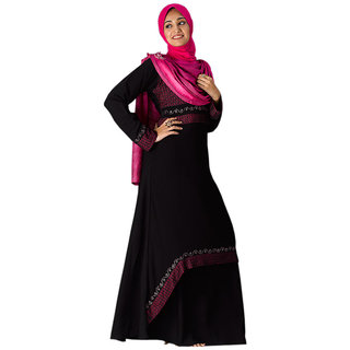 Parvin 3125 Self Design Fashionable Burqa