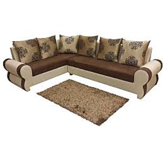 High Quality Leather L Shape Sofa Set