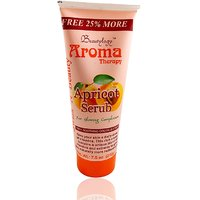 Aroma Therapy Apricot Scrub Free Liner  Rubber Band-UPU