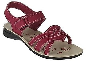 Armado Footwear Women's Red Sandals