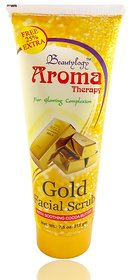 Aroma Therapy Gold Facial Scrub Free Liner  Rubber Band-UPU