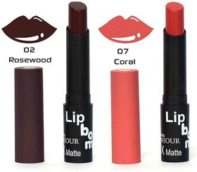 Color Fever Crme Matte Lipstick - Rosewood / Coral