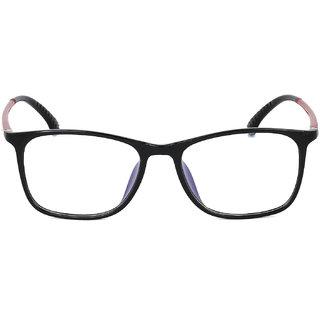 Royal Son Black Unisex Eye Glasses -RS04450ER
