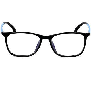 Royal Son Black Unisex Eye Glasses -RS04460ER