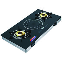 Padmini Hybrid Gas Induction Cooking System