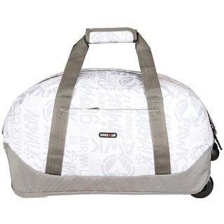 BagsRus Amaze 56L Ash Grey Polyester Cabin Trolley Bag