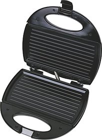 Lifelong Sandwich  Panni Maker (112 Large Griller Plate) Grill, Toast (Black, Stainless Steel)