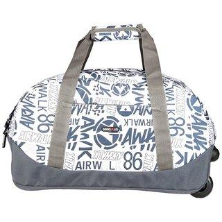 BagsRus Amaze 56L Dark Grey Polyester Cabin Trolley Bag