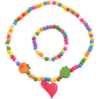 Angel Glitter My Sugary Sweet Heart 2-Pcs Jewellery Set