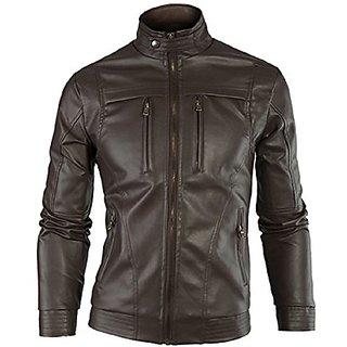 Gordania Bomber Series Mens Slim Fit Zipper Design Jackets