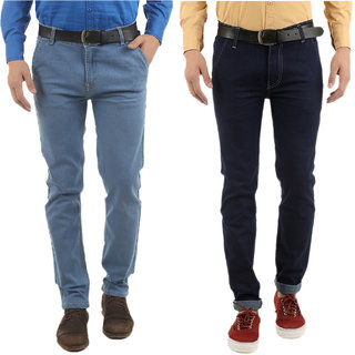 Western Texas 96 Combo of 2 Slim Fit Casual Wear Jeans