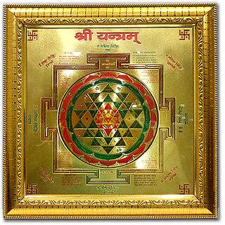 Gold Plated Shree Yantras