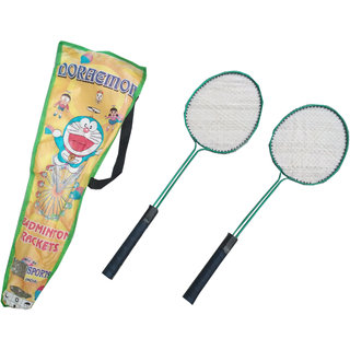 Suraj baby badminton racquets with cover and 2 cocksfor your kids SE-BR-10